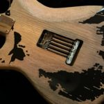 "CUSTOM-MADE ""Remodeled John Mayer Black One Aged Parts A0408014"""