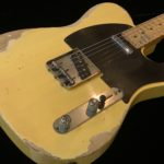 CUSTOM-MADE Remodeled 51 Nocaster Heavy Relic Faded Blonde