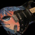 ichimonzi Select アニメ カスタムペイント エレキギター A0408015 NEW