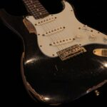 CUSTOM-MADE 1962 Stratocaster Heavy Relic - Black
