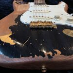 """CUSTOM-MADE """"Remodeled John Mayer Black One Aged Parts A0408016"""