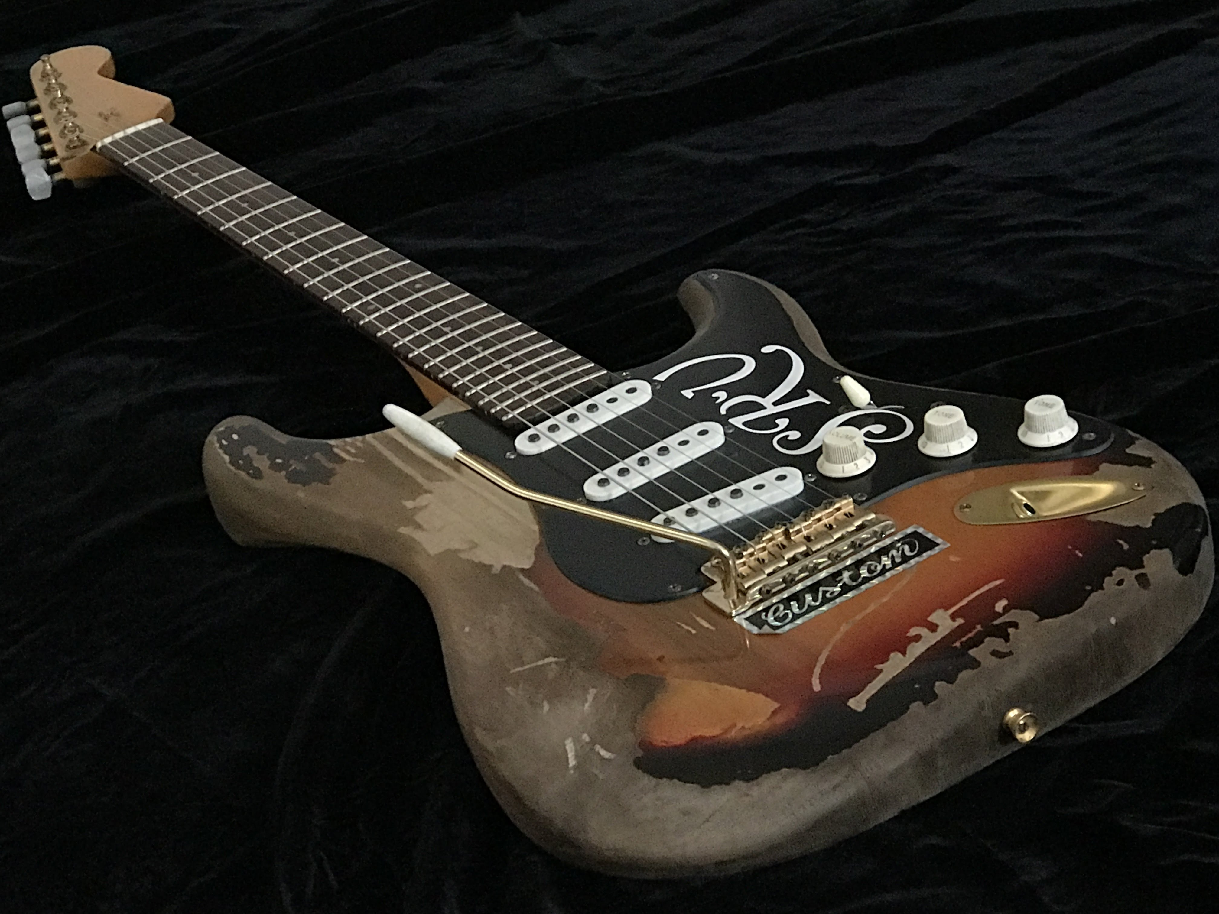 Remodeled Stevie Ray Vaughan Number One Vintage Style A0408001