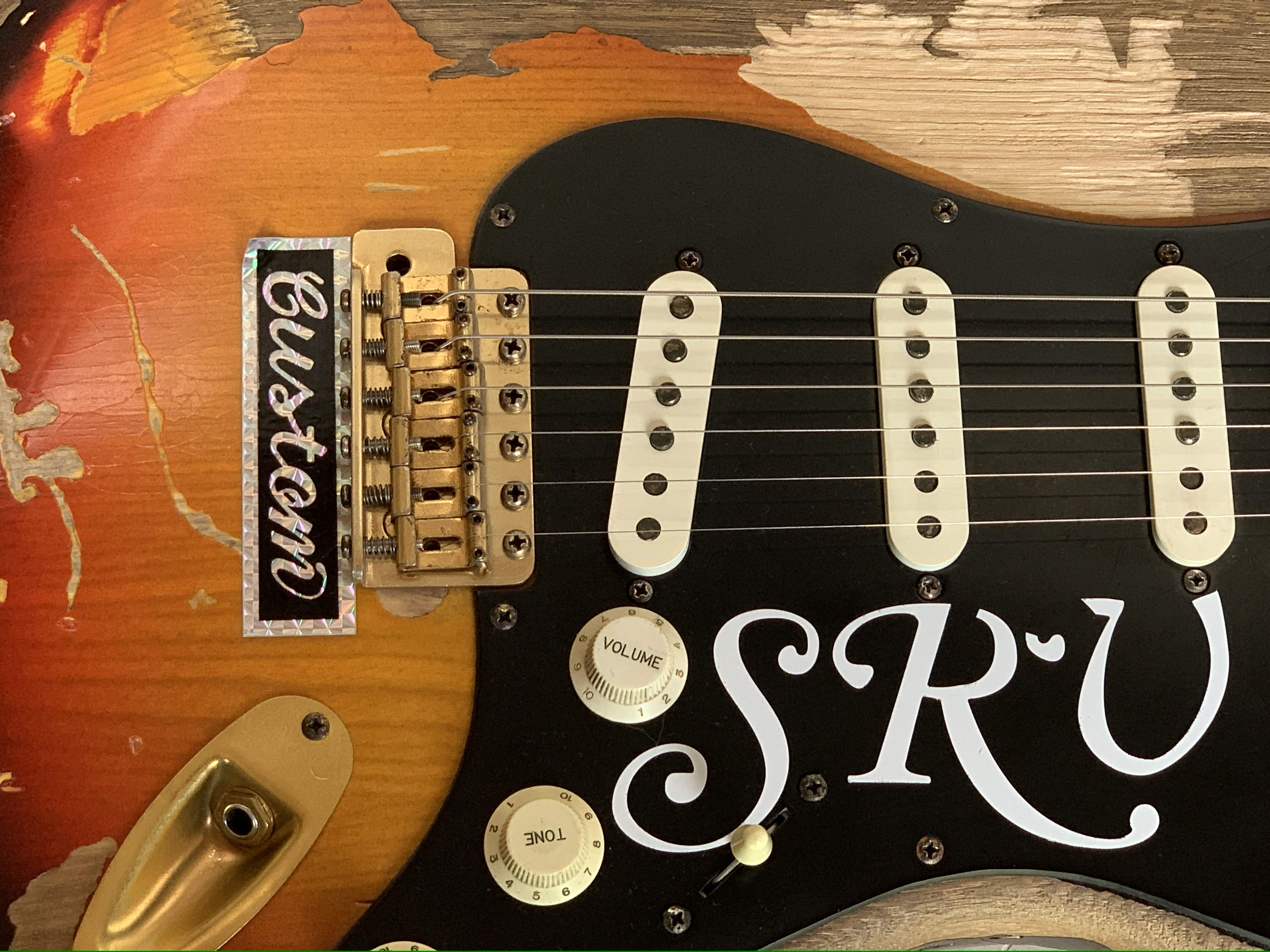 Remodeled Stevie Ray Vaughan Number One Vintage Style A0408004